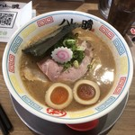ハレノチ晴 - 料理写真:味玉濃熟鶏しぼりそば