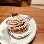 ミッシェルバッハ - ちょっと崩れてしまいましたが(^◇^;)柔らかめのマロンクリームは生クリーム感が強めで滑らか。中のシャンティはお上品なおいしさ♡