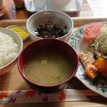 アップルズカフェ - 料理写真:日替わり定食 600円