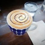 チルアウト スタイル コーヒー - オレンジとショコラで甘ーいお味に(*´ー`*)