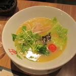 トマトの花 - 鶏白湯麺