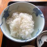 古蝶庵 - すじカレーうどん(ご飯セット) 限定10 1380円