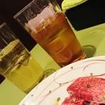 焼肉 司 - ドリンク写真: