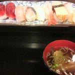 祐鮨 - ランチにぎり1,000円