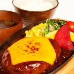 029吉祥寺食堂 - チーズハンバーグ