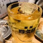 魚の四文屋 - ハイボール(350円)