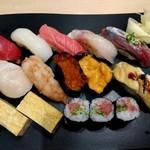 佐渡のすし 弁慶 - 料理写真:特選にぎり