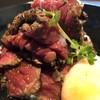 家馳 - 料理写真:ローストビーフ丼