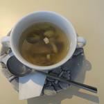 Grill Hana Chocolat - スープはキノコ