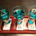 いろり - 富山地酒飲みくらべ