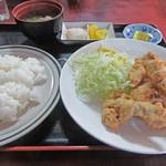 キッチンアベ - 豚肉天ぷら定食