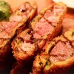 テンアンドハーフカフェ - 豚肩肉の香草カツレツ
