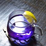 札幌 宮の森珈琲 - 青いお茶