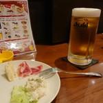サブリード - ビール単品お代わり