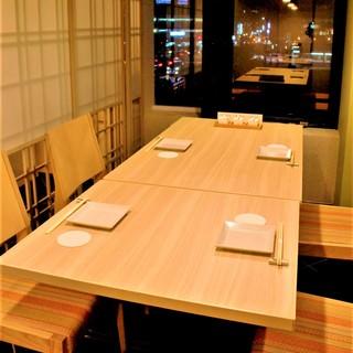 京都での個室和食店ならじぶんどき