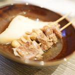 大衆天ぷらtoかすそば風土.はなれ - おでん