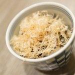 大衆天ぷらtoかすそば風土.はなれ - オクラ塩昆布