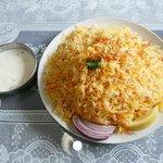 ムスカン - 野菜ビリヤニセット900円 サラダ、ドリンク付きなり