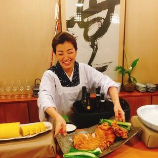 毎月三週目/木金土開催カウンターでおばんざい『若女将の台所』