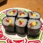 金沢回転寿司 輝らり - 太巻きの細巻き