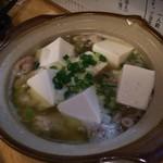 102856775 - 煮込み豆腐入り