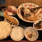 魚がし食堂 中央市場店 - 平日のお魚ランチ