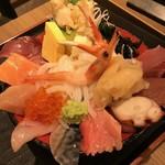 魚がし食堂 中央市場店 - 漁師丼