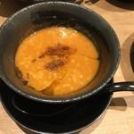 つけめん・らーめん 海老鶏麺蔵 - 海老つけ麺(900円)つけ汁~♪