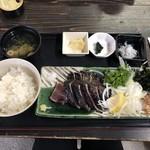 土佐たたき道場 - カツオのタタキ定食