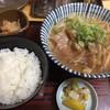 せせらぎ食堂 - 料理写真:すじ肉ラーメン定食950円