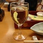 四季自然喰処たちばな - 白ワイン