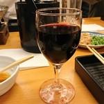 四季自然喰処たちばな - 赤ワイン