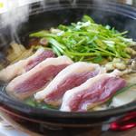 ツムラ - 料理写真:鴨鍋