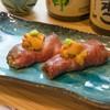 久松屋 - 料理写真:黒毛和牛生うにのせ