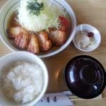 秀膳 - しょうが焼き定食(ご飯半分で注文)