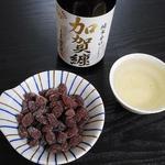 豆芳 - 加賀纏という日本酒と一緒に食べました