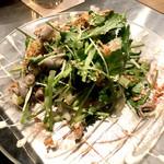 博多串焼・野菜巻き串 三五八 - 酢モツパクチー