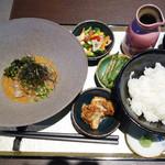 米と葡萄 by SHINGEN - 鯛茶ランチ1,000円(税別)。