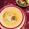 狐狸庵 - 料理写真:サラダ&コーンスープ