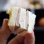 BVLGARI Il bar - 可愛いサンドイッチ