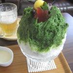 埜庵 - 冬の恵抹茶金時¥900 '11.11.中旬