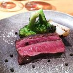 FORNO - 鳥取県産 前田牧場黒毛和牛オレイン55の薪焼き