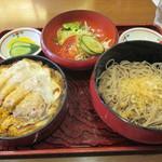 新ふじ - 「かつ丼定食」(850円)