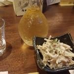 酒肴どころ しんとみ - 日本酒とお通し