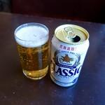 停車場 - [2019/02]ビール(500円)