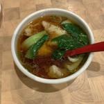 鴻元食坊 - ワンタンスープ