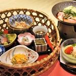 赤石 - 料理写真:弥生季節御膳【花山吹】