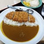 松乃家 - ◆ロースかつカレー&ポテトサラダ 650円