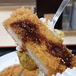 松乃家 - かけなくても十分に美味しいことが分かりました