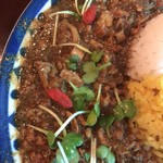 スパイスカリー バビルの塔 - 豆カリー(小松菜・カリフラワー)